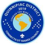 "Quinnipiac District - Connecticut Yankee Council - ""Cherish The Wide Earth"""